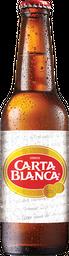 Cerveza Carta Blanca Clara Botella 355 mL
