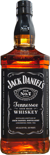 Jack Daniels Whisky Tennessee Botella