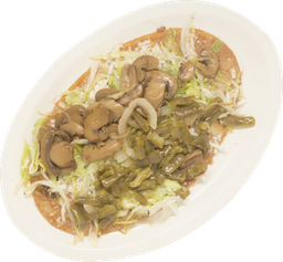 Huarache Vegetariano