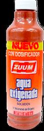 Agua Oxigenada Zuum Con Dosificador 185 mL