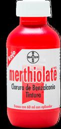 Antiséptico Merthiolate Rojo 60 mL