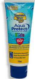 Protector Solar Banana Boat Aqua Protect Kids 50+ FPS 118 mL