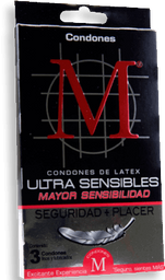 Condones M Force Ultra 3 U