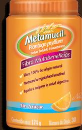 Metamucil Polvo Sabor Naranja 174 g