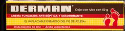 Derman Crema Fungicida Antiséptico y Desodorante 50 g