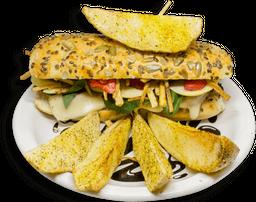 Sándwich de Pollo Cítrico