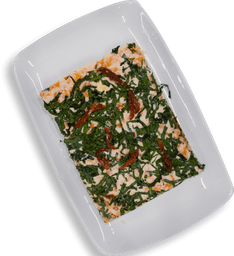 Pizza Personal Espinaca y Tomate