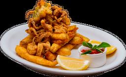 Calamari E Zucchini Fritti
