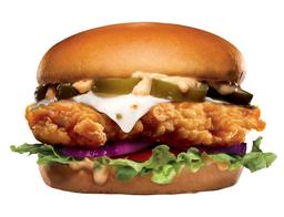 Jalapeño Chicken Tender Sándwich