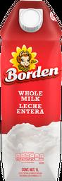 Leche Borden Entera 1 L