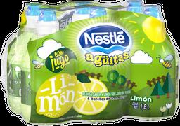 Bebida Agüitas Nestlé Sabor Limón 300 mL x 6