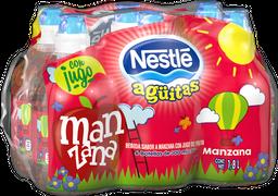 Agua Saborizada Nestlé Agüitas Manzana 300 mL x 6
