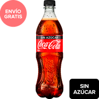 Refresco Coca Cola Sin Azúcar 600 mL