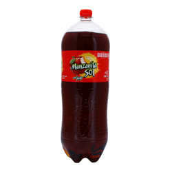 Refresco Manzanita Sol Botella 3 L