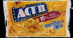 Palomitas Mantequilla Extra Act II 80g