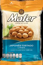 Cacahuate Japonés Mafer Tostado Con Limón 180 g
