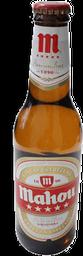 Cerveza Mahou Cinco Estrellas Premium Clara Botella 330 mL