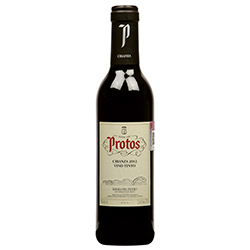 Vino Tinto Protos Crianza 2010 Botella 375 mL