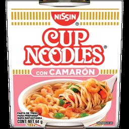 Sopa Instántanea Nissin Cup Noodles Camarón 64 g