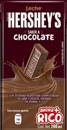 Leche Hersheys Chocolate 200 mL