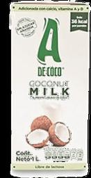 Bebida A De Coco Libre de Lactosa 1 L