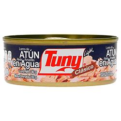 Lomo de Atún Tuny Aleta Amarilla en Agua Lata 140 g
