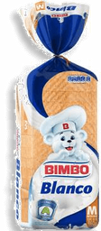 Pan de Caja Bimbo Blanco Mediano  460 g