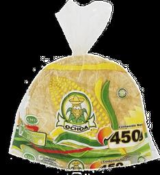 Tortillas Ochoa de Maíz 450 g