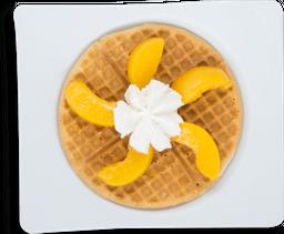 Waffle Durazno