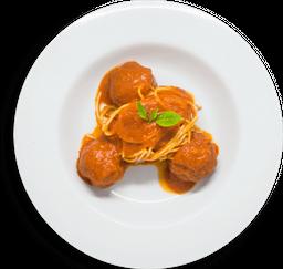 Spaghetti E Polpette Napoletane