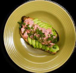 Avocado Toasts de Salmón Trout Ahumado en Casa
