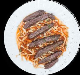 Steak' Pasta