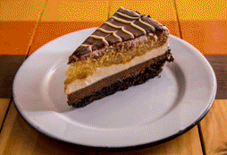 Pastel 4 Chocolates