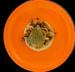 Taco de Cecina Enchilada
