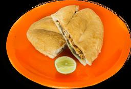 Torta de Cecina Enchilada