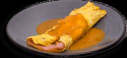 Omelette de Jamón de Pavo y Queso