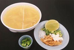 Sopa Pollo Loco