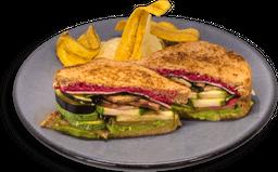 Sándwich de Verduras al Grill