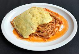 Pechuga de Pollo Parmesano