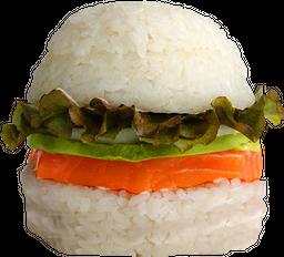Sushi Burger de Salmón