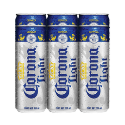 Cerveza Corona Light Clara 355 mL x 6