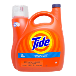 Detergente Liquido Tide Clean Breeze 4.43 L