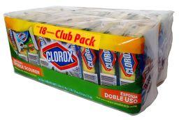 Esponja Clorox Doble Uso 18 U