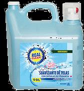 Suavizante De Telas Real Clean 9 L