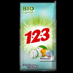 Detergente 1.2.3. Multiusos 10 Kg