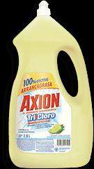 Lavatrastes Axión Tricloro Liquido 2.8 L