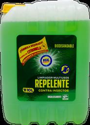 Limpiador Real Clean Multiusos Contra Insectos 10 L