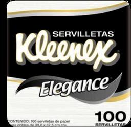 Servilleta Kleenex Elegance 100 Hojas x 3