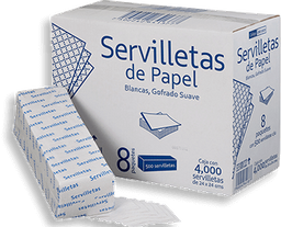 Servilleta Grey Moon 4000 U