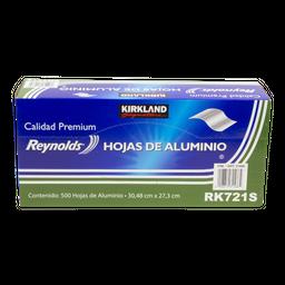 Papel Aluminio Kirkland Signature 27 cm X 30 cm 500 U